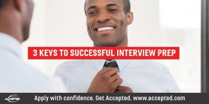 3 Keys to Successful Interview Preparation