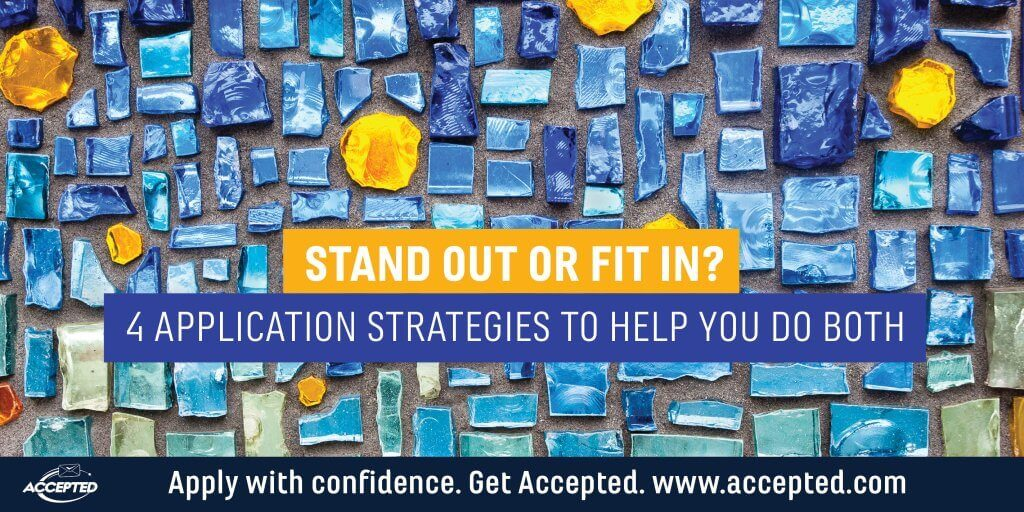 Stand Out or Fit In? 4 Application Strategies to Help You Do Both